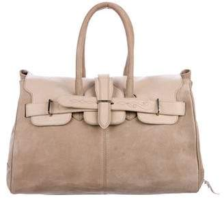 Golden Goose Nubuck Boston Bag