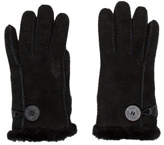 UGGUGG Australia Shearling-Lined Suede Gloves