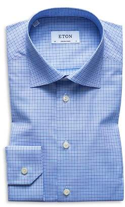 Eton Check Regular Fit Dress Shirt