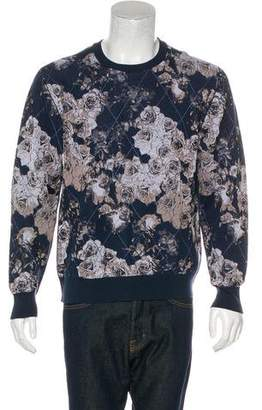 Christian Dior Floral Diamond Print Sweatshirt