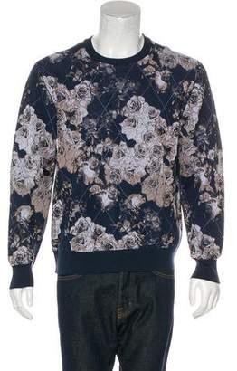 Christian Dior Floral Diamond Print Sweatshirt