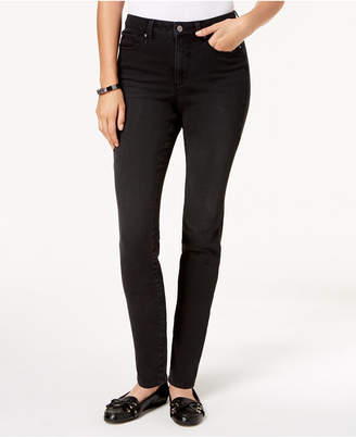 Charter Club Petite Tummy Control Skinny Jeans, Created for Macy's