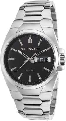 Wittnauer WN3044 Men's Brody Dial Stainless Steel Diamond Watch