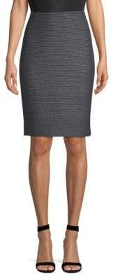 St. John Sofia Knit Pencil Skirt