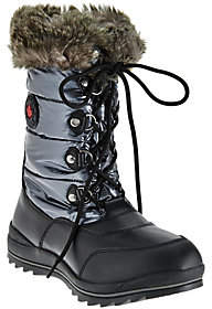 Cougar Waterproof Lace-up Snow Boots- Cranbrook