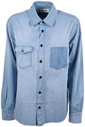 Saint Laurent Oversized Chambray Shirt