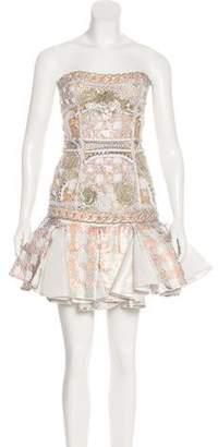 Balmain Embellished Skirt Set