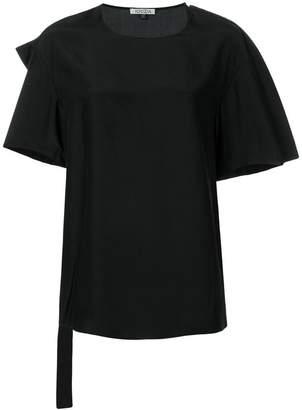 Krizia back-print blouse