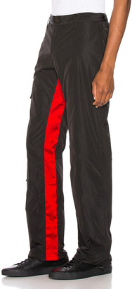Wales Bonner Cargo Pants in Black & Pink | FWRD