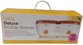 GiGi Deluxe Double Wax Warmer 2 Wax Cans 14 Ounce