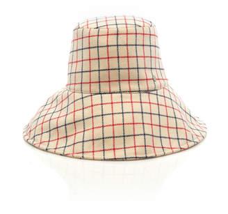 Maison Michel Isabella Checked Wool Bucket Hat