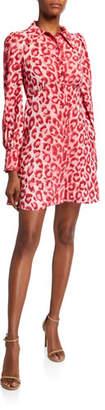 Kate Spade Panthera Long-Sleeve Shirtdress
