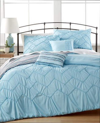 Jessica Sanders CLOSEOUT! Avery 5-Pc. Reversible Queen Comforter Set
