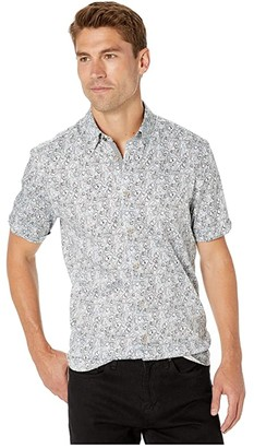Ted Baker Buffilo Short Sleeve Botanical Print Shirt