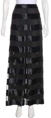 Giorgio Armani Striped Maxi Skirt