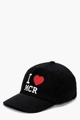 boohoo MCR Charity Cap - MCR