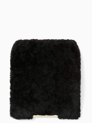 Kate Spade Make it mine shearling flap