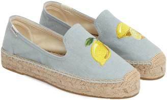 Soludos Lemon Espadrille Flat