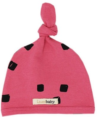 L'ovedbaby Top-Knot Hat Berry Stone 6-12 Months