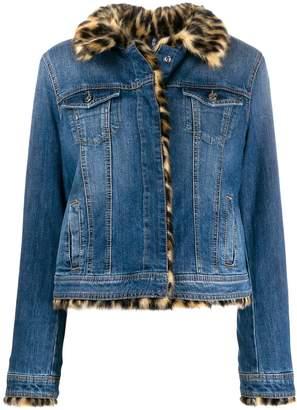 Liu Jo faux fur denim jacket