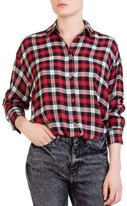 The Kooples Centella Plaid Shirt