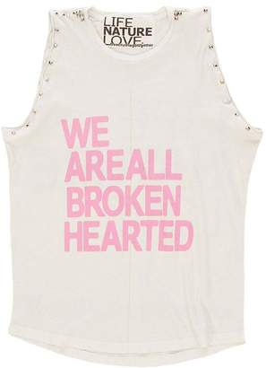 Freecity We Are All Broken Hearted LNL Sleeveless Stud Tee