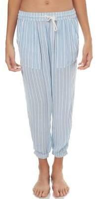 Billabong New Girls Kids Girls Sundaze Stripe Pant Cotton Blue