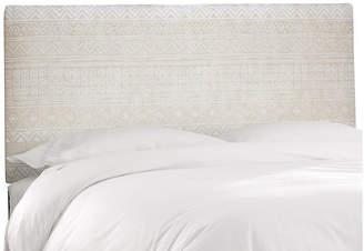 One Kings Lane Novak Headboard - Natural Batik Linen