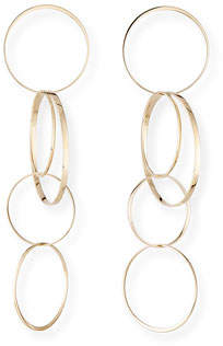 Lana Large Bond Hoop Drop Earrings