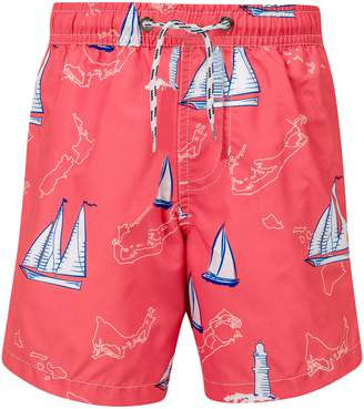 Snapper Rock Island Sail Swim Trunks