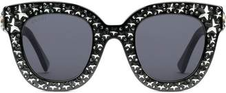 Gucci star embellished sunglasses