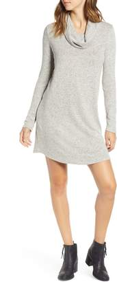 Socialite Cowl Neck Knit Dress