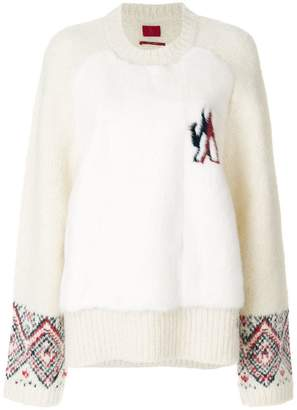 Moncler Gamme Rouge round neck jumper