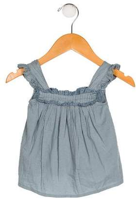 BONBON Girls' Embroidered Shift Dress
