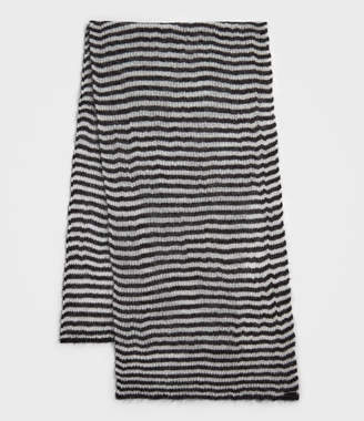 AllSaints Striped Blanket Scarf