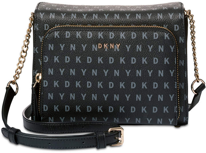 Dkny Bryant Small Pocket Signature Crossbody, Created for Macy's