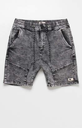 LIRA Warden Acid Wash Denim Shorts