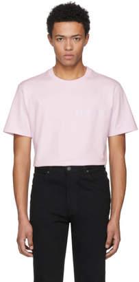 Calvin Klein Pink Logo Text T-Shirt