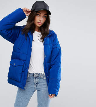 Asos Tall TALL Puffer With Pocket Detail