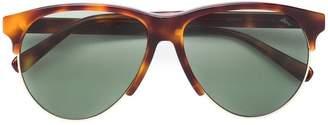 Brioni tortoiseshell round sunglasses
