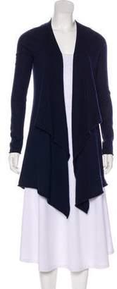 Calypso Cashmere Asymmetrical Cardigan