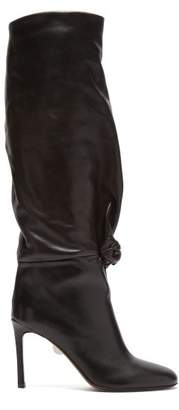 Samuele Failli - Betsy Knee High Leather Boots - Womens - Brown