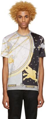 Versace Grey Silk Space T-Shirt $775 thestylecure.com