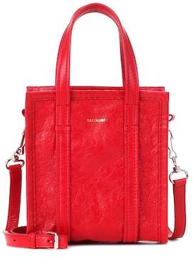 Balenciaga Bazar XXS leather shopper