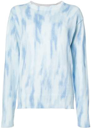 Americana Sies Marjan Courtney Tie Dye Crew Neck Sweater