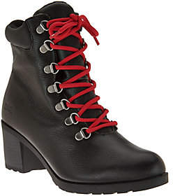Cougar As Is Cougar Waterproof Leather Lace-Up Boots - Angie