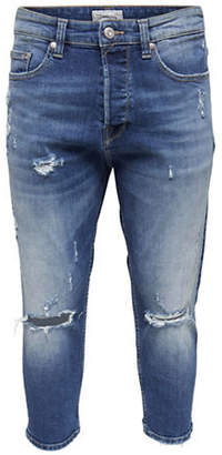 ONLY & SONS Loose-Fit Cropped Jeans