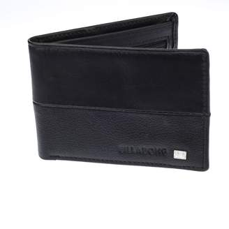 Billabong Leather Wallet with CC, Note and Coin Sections ~ Downtown