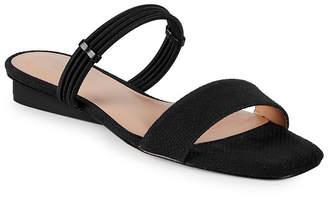 Halston Modemoven Issa Patent Slip-On Sandal