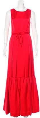Zac Posen Satin Evening Dress w/ Tags